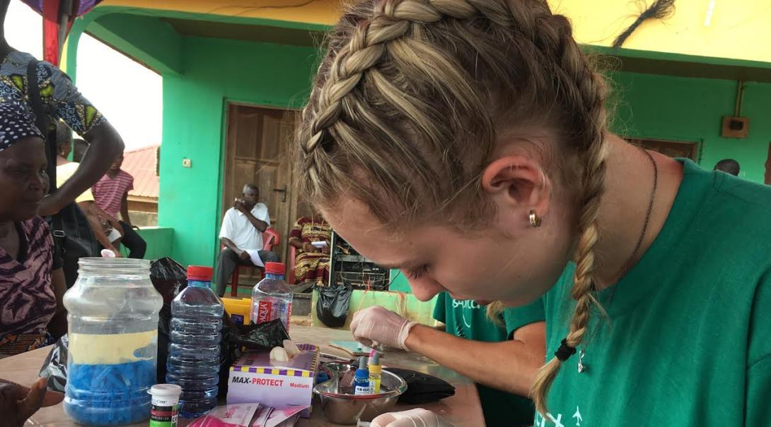 Ervaringsverhaal: Geneeskunde jongerenreis in Ghana door Britt D